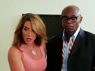 He Watches His Wife Cum All Over A Black Guy's Big Cock